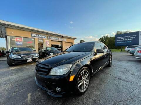 2010 Mercedes-Benz C-Class for sale at USA Auto Sales & Services, LLC in Mason OH