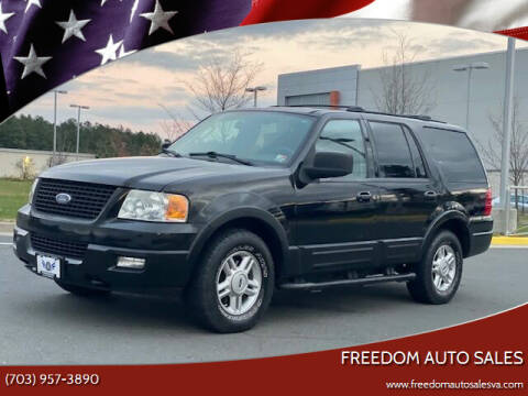 2004 Ford Expedition for sale at Freedom Auto Sales in Chantilly VA