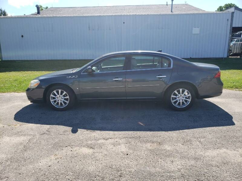 2009 Buick Lucerne for sale at Steve Winnie Auto Sales in Edmore MI