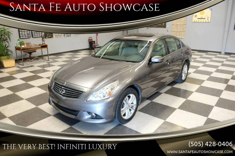 2012 Infiniti G25 Sedan for sale at Santa Fe Auto Showcase in Santa Fe NM