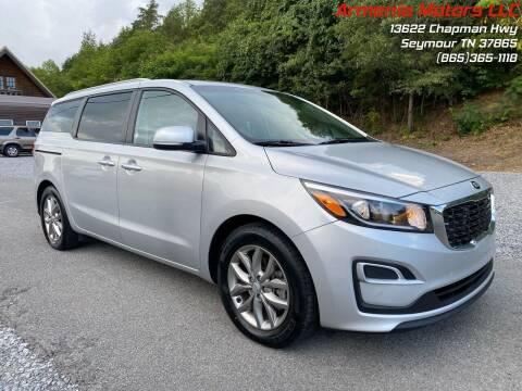 2020 Kia Sedona for sale at Armenia Motors in Seymour TN