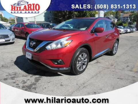 2016 Nissan Murano for sale at Hilario's Auto Sales in Worcester MA
