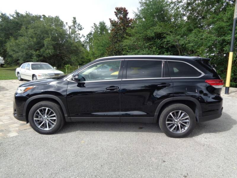 2019 Toyota Highlander for sale at Thurston Auto and RV Sales in Clermont FL