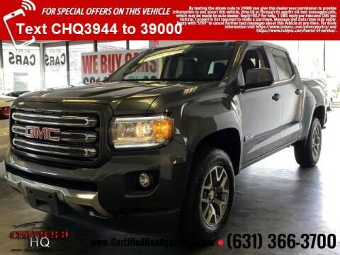 2016 GMC Canyon for sale at CERTIFIED HEADQUARTERS in St James NY