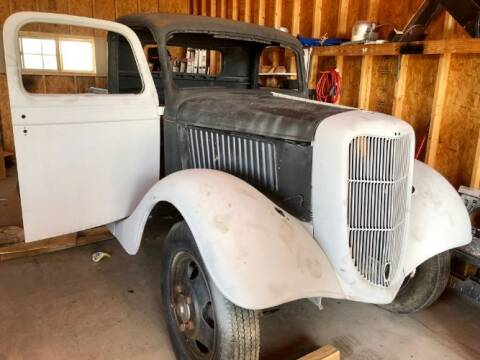 1936 Ford F-150 for sale at Classic Car Deals in Cadillac MI