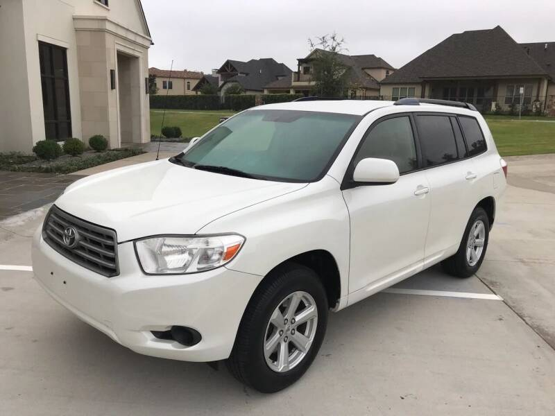 2008 Toyota Highlander for sale at Russell Brothers Auto Sales in Tyler TX
