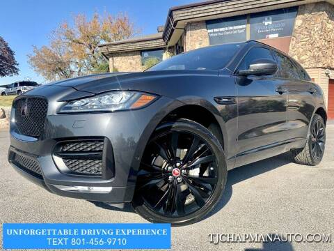 2017 Jaguar F-PACE for sale at TJ Chapman Auto in Salt Lake City UT