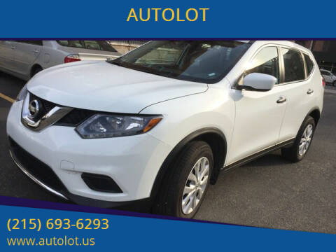 2015 Nissan Rogue for sale at AUTOLOT in Bristol PA