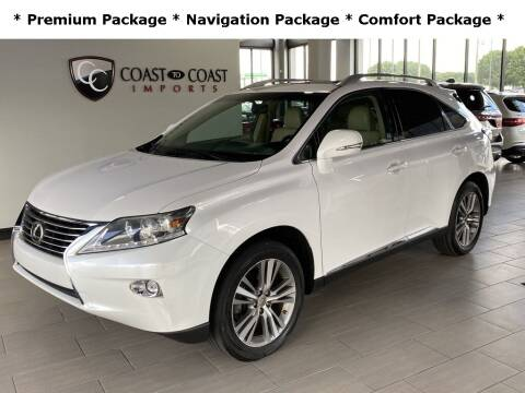 2015 Lexus RX 350 for sale at Coast to Coast Imports in Fishers IN