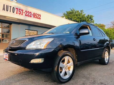 2007 Lexus RX 350 for sale at Trimax Auto Group in Norfolk VA