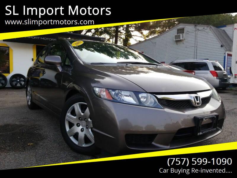 2009 Honda Civic for sale at SL Import Motors in Newport News VA
