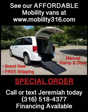 2020 Dodge Caravan for sale at Affordable Mobility Solutions, LLC - Mobility/Wheelchair Accessible Inventory-Wichita in Wichita KS