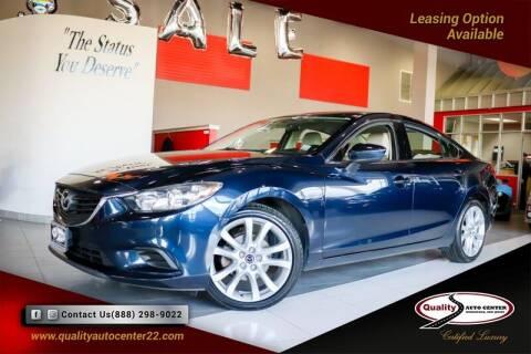 2016 Mazda MAZDA6 for sale at Quality Auto Center in Springfield NJ
