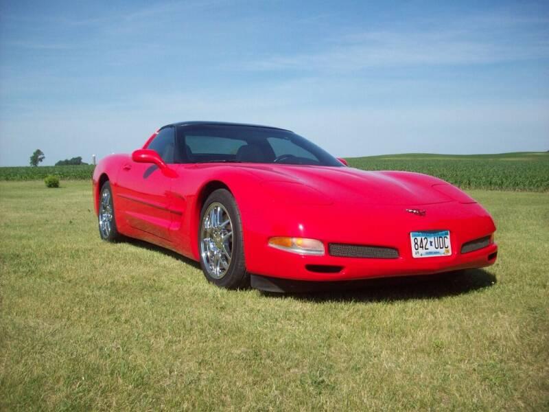 2002 Chevrolet Corvette for sale at S & S CLASSIC MOTORSPORTS INC in Ellendale MN