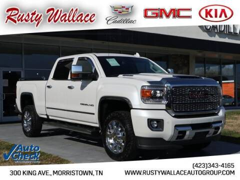 2018 GMC Sierra 2500HD for sale at RUSTY WALLACE CADILLAC GMC KIA in Morristown TN