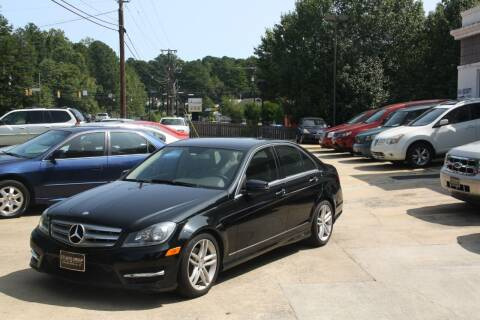 2012 Mercedes-Benz C-Class for sale at GTI Auto Exchange in Durham NC