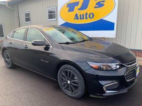 2017 Chevrolet Malibu for sale at TJ's Auto in Wisconsin Rapids WI