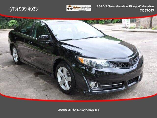 2014 Toyota Camry for sale at AUTOS-MOBILES in Houston TX