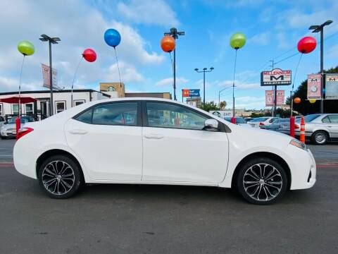 2014 Toyota Corolla for sale at MILLENNIUM CARS in San Diego CA