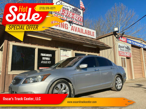 2009 Honda Accord for sale at Oscar's Truck Center, LLC in Houston TX