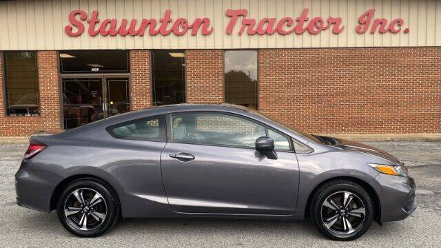 2015 Honda Civic for sale at STAUNTON TRACTOR INC in Staunton VA