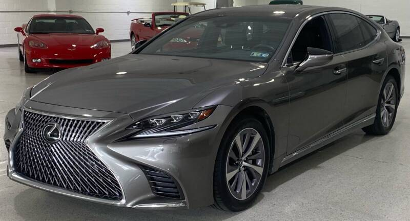 2018 Lexus LS 500 for sale at Hamilton Automotive in North Huntingdon PA