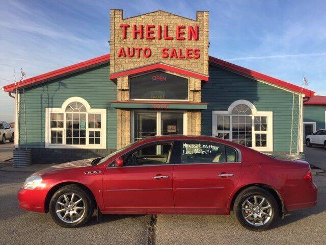 2006 Buick Lucerne for sale at THEILEN AUTO SALES in Clear Lake IA