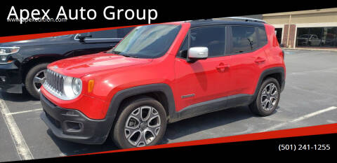 2015 Jeep Renegade for sale at Apex Auto Group in Cabot AR