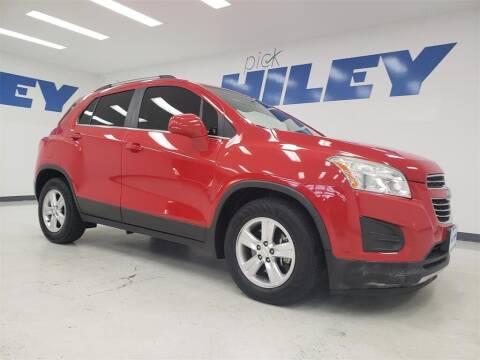 2015 Chevrolet Trax for sale at HILEY MAZDA VOLKSWAGEN of ARLINGTON in Arlington TX