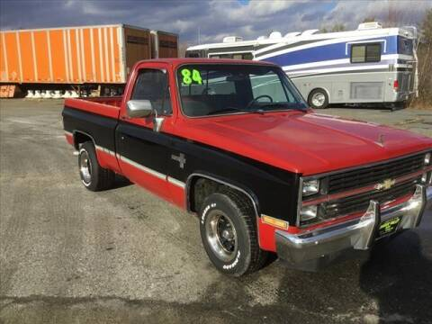 1984 Chevrolet C/K 10 Series for sale at SHAKER VALLEY AUTO SALES - Late Models in Enfield NH