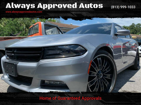 2016 Dodge Charger for sale at Always Approved Autos in Tampa FL