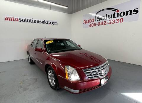 2011 Cadillac DTS for sale at Auto Solutions in Warr Acres OK