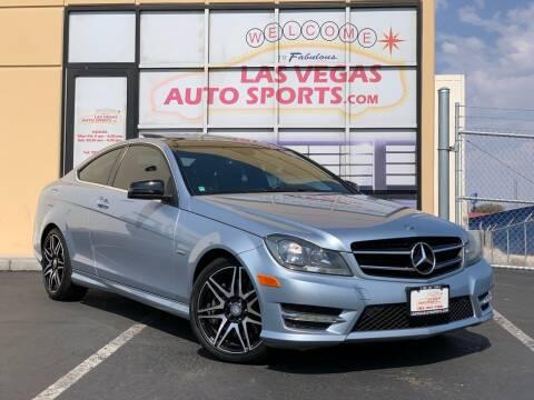 2013 Mercedes-Benz C-Class for sale at Las Vegas Auto Sports in Las Vegas NV