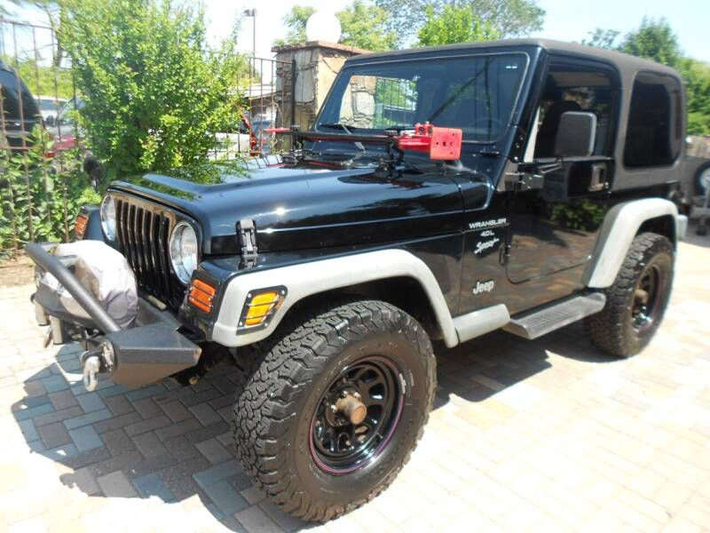 2001 Jeep Wrangler for sale at Precision Auto Sales of New York in Farmingdale NY