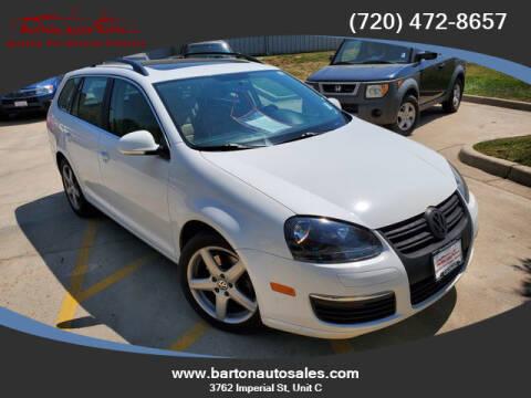 2009 Volkswagen Jetta for sale at Barton Auto Sales in Frederick CO
