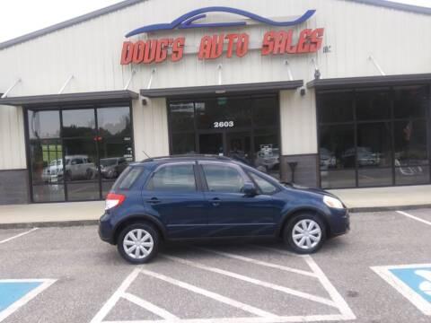 2010 Suzuki SX4 Crossover for sale at DOUG'S AUTO SALES INC in Pleasant View TN
