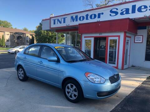 2010 Hyundai Accent for sale at TNT Motor Sales in Oregon IL