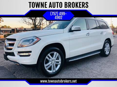 2013 Mercedes-Benz GL-Class for sale at TOWNE AUTO BROKERS in Virginia Beach VA