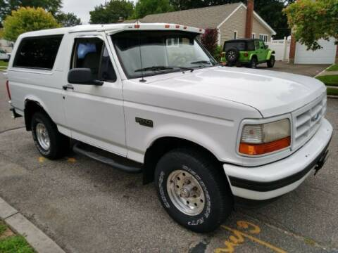 1996 Ford Bronco for sale at Classic Car Deals in Cadillac MI