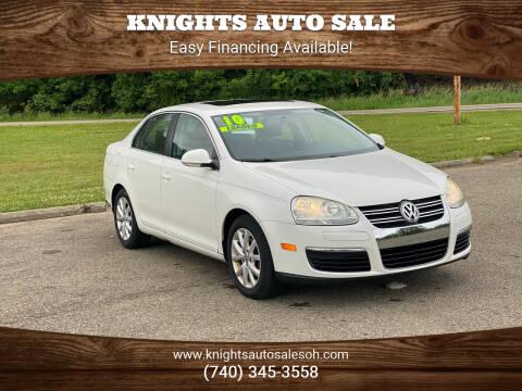 2010 Volkswagen Jetta for sale at Knights Auto Sale in Newark OH