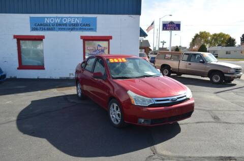 2009 Ford Focus for sale at CARGILL U DRIVE USED CARS in Twin Falls ID