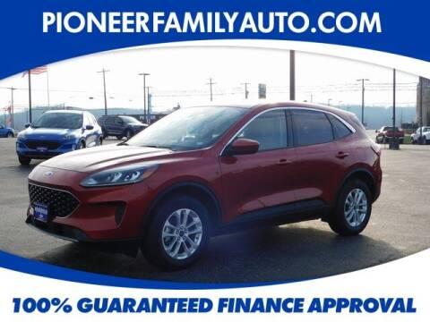 2020 Ford Escape for sale at Pioneer Family auto in Marietta OH
