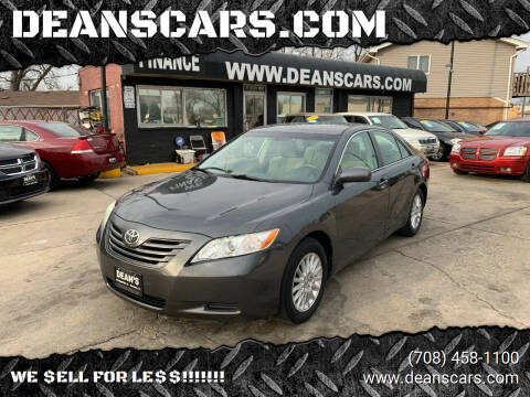 2007 Toyota Camry for sale at DEANSCARS.COM in Bridgeview IL