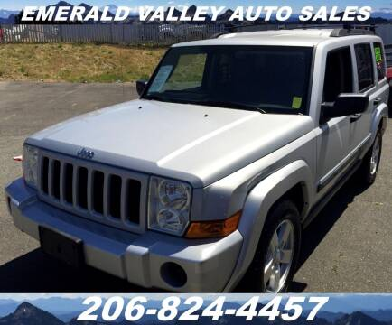2006 Jeep Commander for sale at Emerald Valley Auto Sales in Des Moines WA