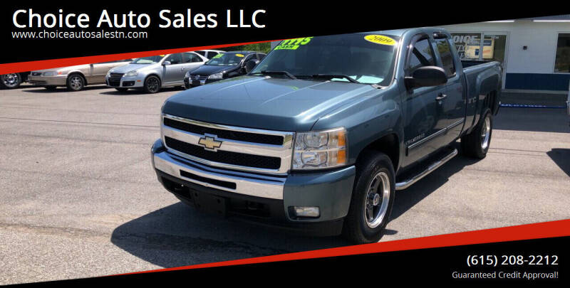 2009 Chevrolet Silverado 1500 for sale at Choice Auto Sales LLC - Cash Inventory in White House TN