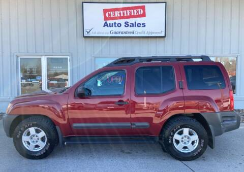2005 Nissan Xterra for sale at Certified Auto Sales in Des Moines IA