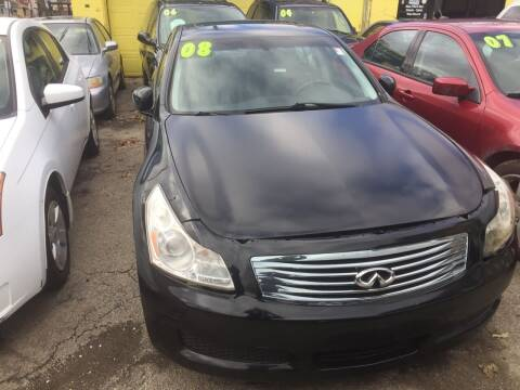 2008 Infiniti G35 for sale at HW Used Car Sales LTD in Chicago IL