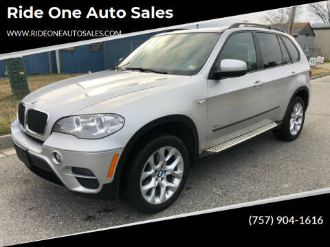2012 BMW X5 for sale at Ride One Auto Sales in Norfolk VA