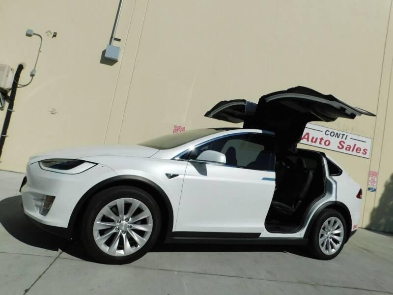 2018 Tesla Model X for sale at Conti Auto Sales Inc in Burlingame CA