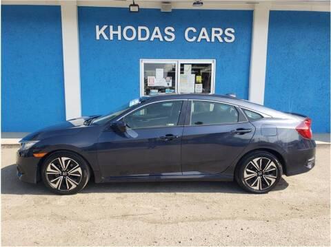 2018 Honda Civic for sale at Khodas Cars in Gilroy CA